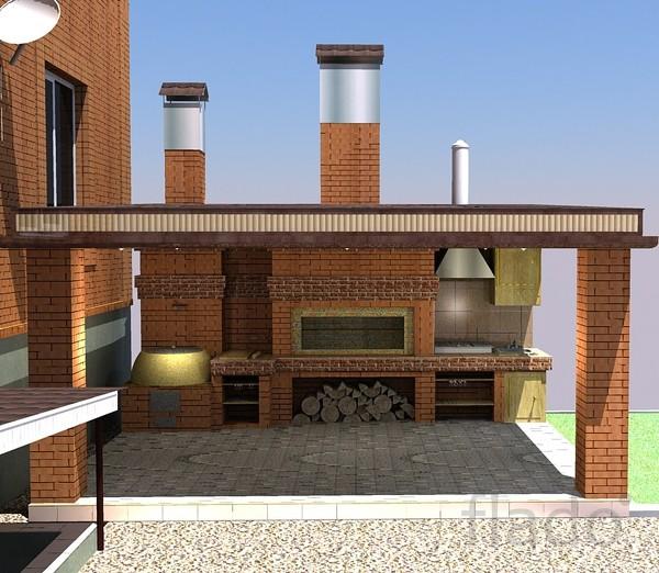 Летняя кухня.