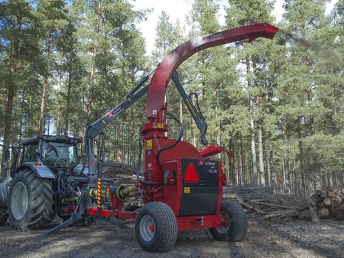 Рубильная машина с манипулятором Junkkari HJ 500 (Финляндия)