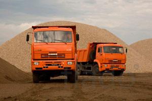 ПГС песок щебень керамзит с доставкой