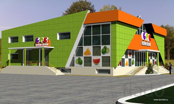 Строительство кафе,баров,магазинов и ресторанов.