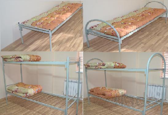 Кровати двухъярусные металлические. Бесплатная доставка.