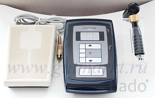 Перманентная машинка для татуажа и тату Кайенн Cheyenne Hawk набор