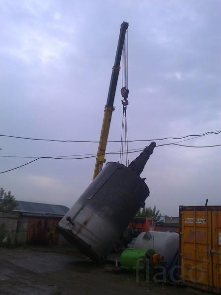Емкость 32 м3 с турбинной мешалкой