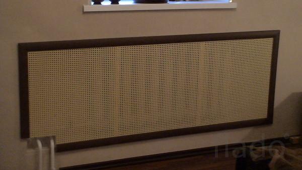 купить экран для радиаторов отопления ротанг