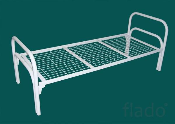 Кровати металлические для рабочих, кровати для общежития, турбазы