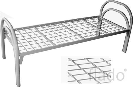 Кровати металлические для строительных времянок, кровати для гостиницы