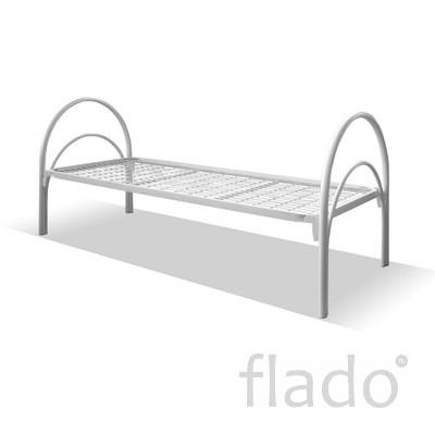 Кровати металлические оптом для общежитий, гостиниц