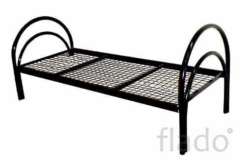 Металлические кровати для интернатов, кровати для строителей
