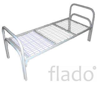 Кровати металлические для гостиницы, кровати для строительных бригад