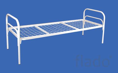 Кровати металлические для турбазы, кровати для учебных заведений