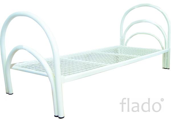 Кровати металлические от производителя по низким ценам для строителей