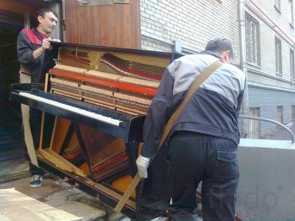 Квартирный переезд.Перевозка пианино,рояля,сейфов.