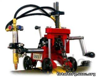 Машина «Орбита» для газовой резки труб ручная