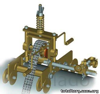 Машина резки труб с ручным приводом ТРЕК (ГАКС-Р-11)