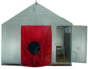Палатка МАГИСТРАЛЬ- стационарное укрытие для сварщиков