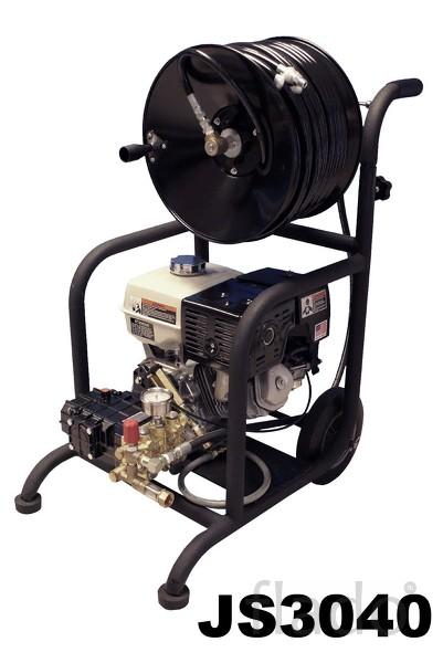 Серия SW и CS компактные прочистные машины с бензиновым приводом