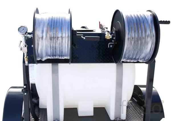 Серия UVJ с функцией подогрева воды, на прицепе