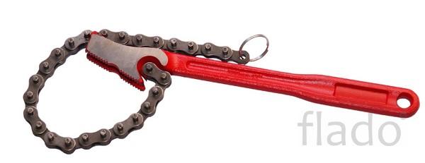 Цепной ключ для труб до 4 дюймов