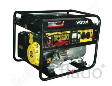 Электрогенератор Huter DY6500LX + пульт