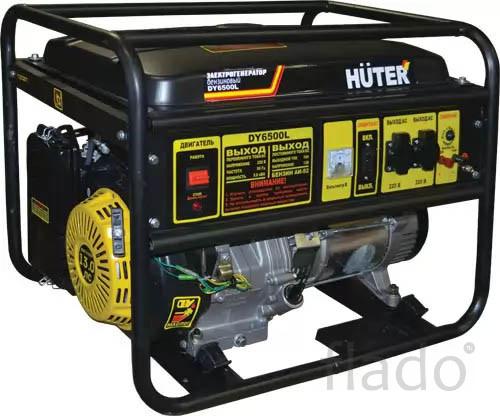 Электрогенератор Huter DY6500LX-электростартер