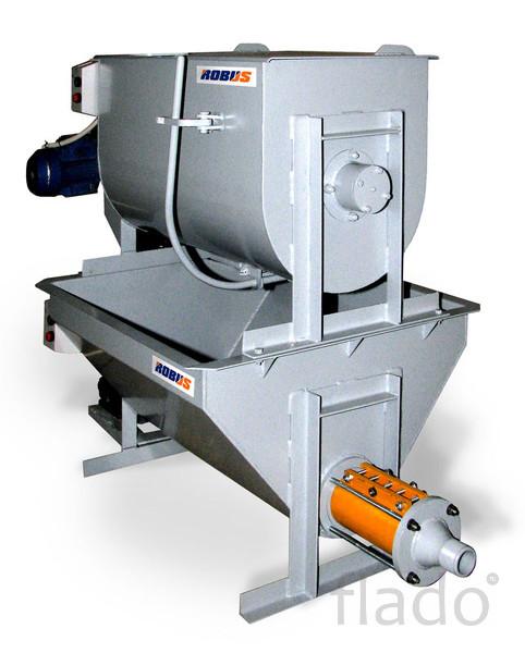 Мини-завод для производства  пенобетона и пеноблоковRobus 200MS