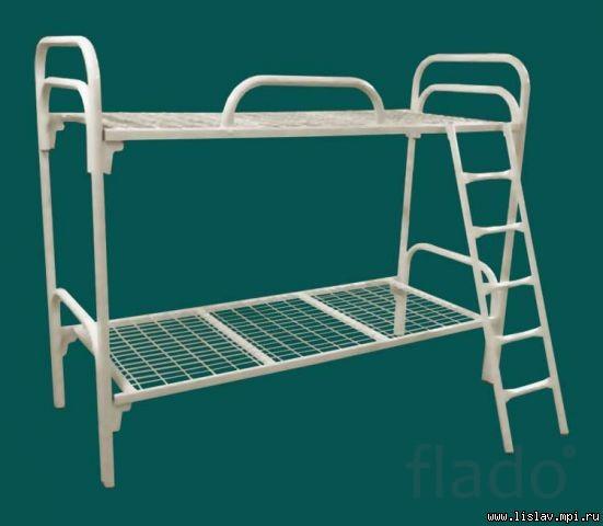 Кровати двухъярусную металлическую
