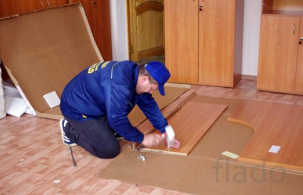 Сборка мебели, профессиональные сборщики