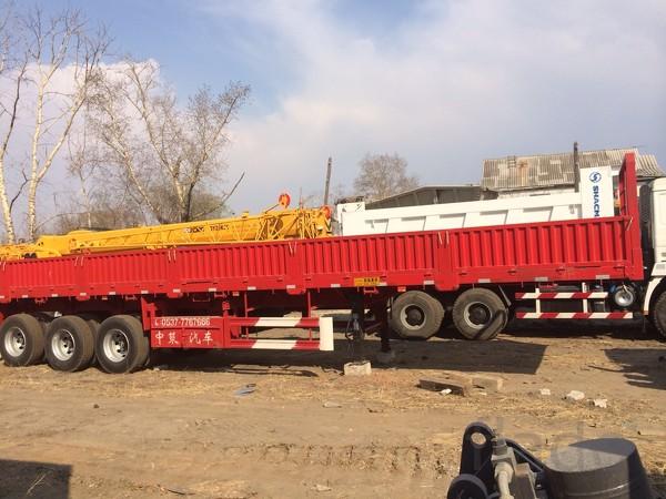 Полуприцеп Бортовой 3 оси 60 тонн новый