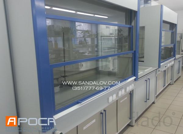 Лабораторная металлическая мебель, комплексное оснащение лабораторий