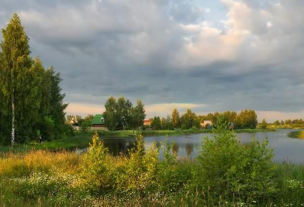 Участок у реки и леса. д. Жуково подмосковье