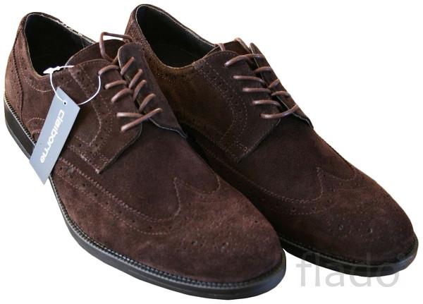 Туфли мужские замшевые Claiborne® Wingtip