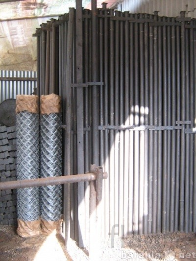 сетка рабица, столбы для забора в Твети