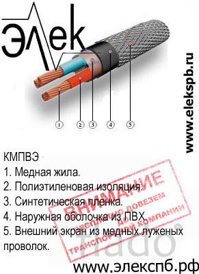 КМПВЭ продажа судового кабеля