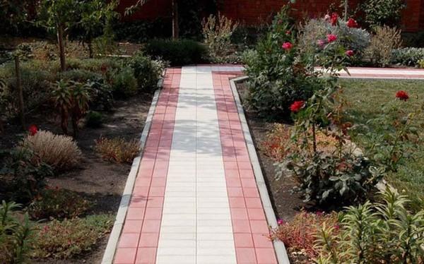 Укладка тротуарной плитки на садовых дорожках своими руками