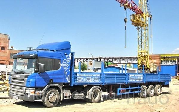 Перевозка длинномерных грузов до 13м, г/п до 20тн фотография Перевозк