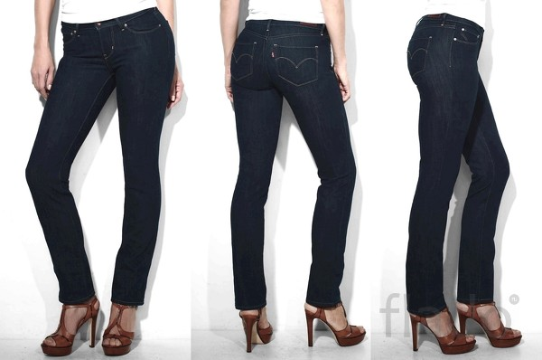 Levi's® Curve ID Straight – джинсы (054000086)
