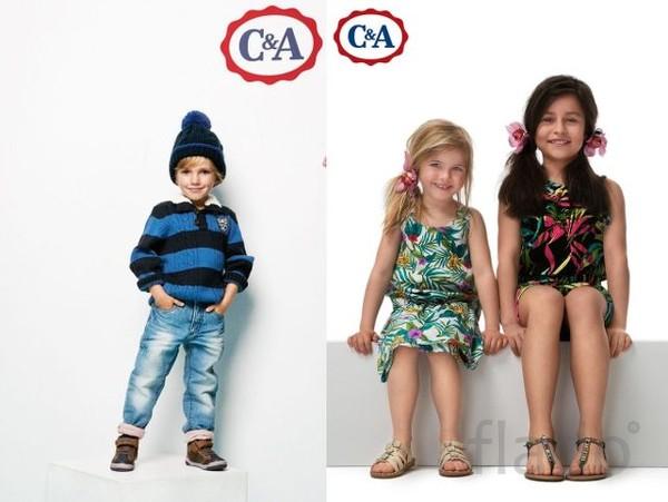 """Cток детской одежды """"C&A"""" оптом в Пятигорске."""