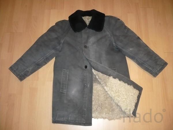 Зимняя куртка-тулуп