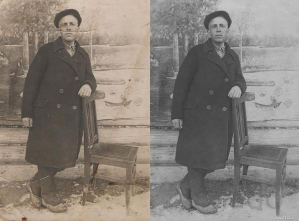 Реставрация и дизайн фотографий
