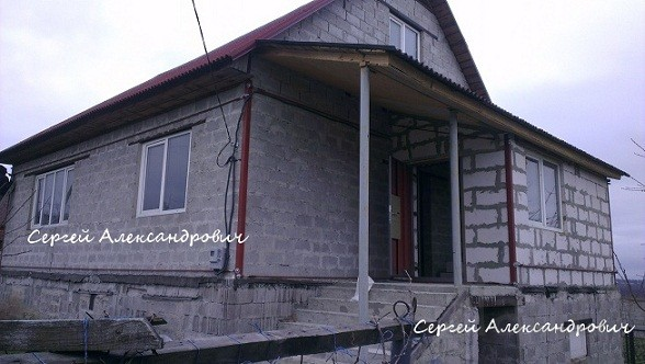 Cтяжка домов металлопоясами, укрепление фундамента.