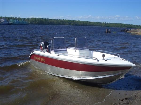 Продаем катер (лодку) Корвет 500