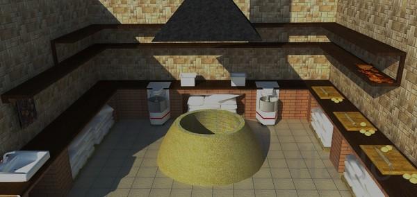Строительство производственных тандыров.