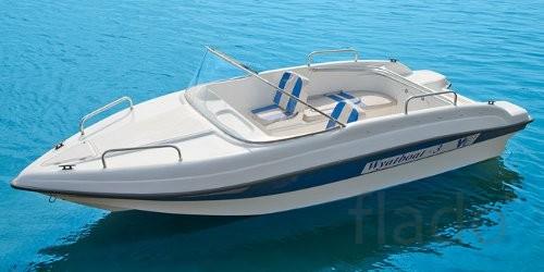 Продаем лодку (катер) Wyatboat 3 с рундуками