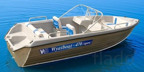 Продаем лодку (катер) Wyatboat 470 Open