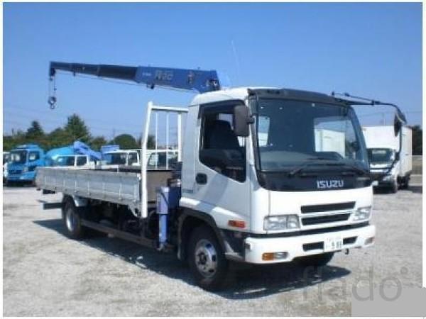 Автоуслуги грузовик с краном-манипулятором