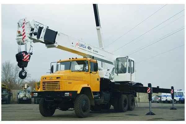 Автокран 40 тонн на базе Краза и 16 тонн