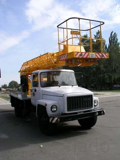 Услуги газ 3309 телескоп 18м-22м