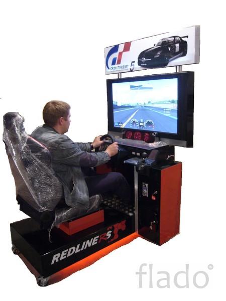 Автогонки симулятор. Развлекательный автомат