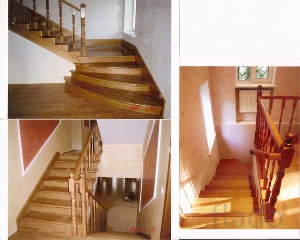 Дубовые лестницы  Мытищах, в Москве, в Московской обл