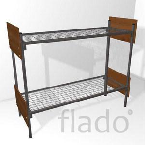 Железные армейские кровати, одноярусные металлические для санаториев.